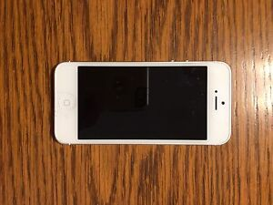 iPhone 5 - like new.  No marks/scratches.