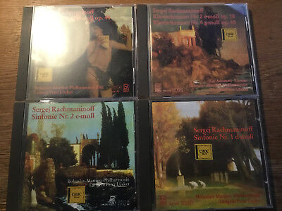 Rachmaninoff - Sinfonie 1 2 3 Klavierkonzert 2 4 [4 CD] BAYER RECORDS Lücker gebraucht kaufen  Deutschland