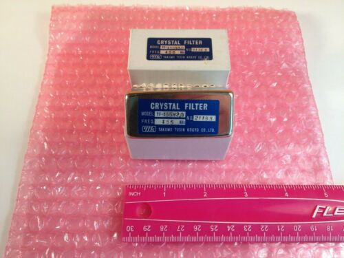 YF-455H2.0 crystal filter , 455 Khz center freq sym. , sharp skirt , 2 KC wide