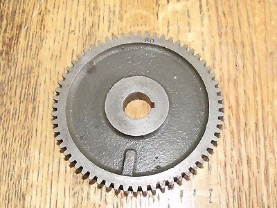 South Bend 32k60n1 9 Lathe 60 Tooth Threading Change Gear 916 Bore 32k60n1