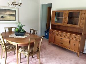 Dining Room Table and Hutch. REDUCED