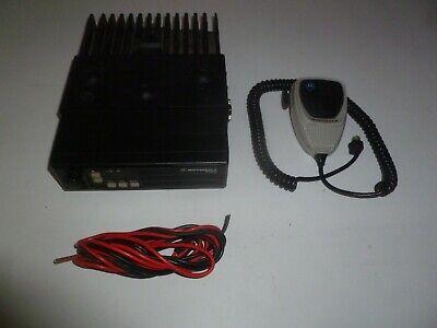 Motorola Radius 42-50 Mhz Low Band Two Way Radio W Mic Bracket D51lra9734bk