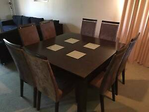 9 Piece Dining Suite - Table and Chairs Greenwood Joondalup Area Preview