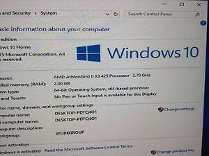 AMD Athlon II X3 425 Triple-Core 2.7 GHz, DDR3 2 GB, HDD 320 GB