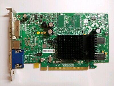 ATI Radeon X300 128MB PCI-E Tall Profile Video Card E-G012-04-2366 F3988 VGA DVi 128mb Vga Ati Radeon