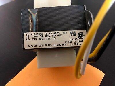 Basler Electric Transformer 24 V 120v 40va  5060 Hz Be141640gaa  New