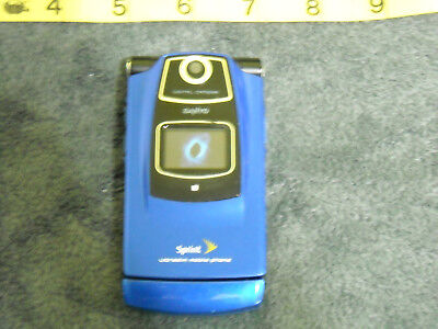 Sanyo KATANA? - Sapphire (Sprint) Flip Cellular Phone Dummy Display Blue