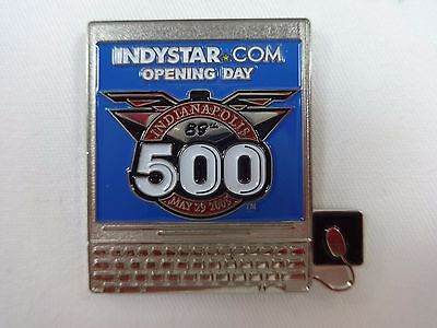 2005 Indianapolis 500 Indystar Com Opening Day Sponsors Collector Pin