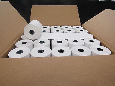 100 Rolls 2 14 X 85 First Data Fd130 Fd50 Fd55 Fd100ti Thermal Paper 100rolls