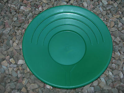 Gold Pan Panning 14 High Impact Plastic Green Prospecting Mining Sluice Nuggets