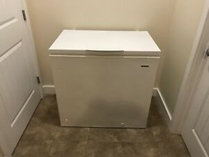 White Apartment Size Freezer