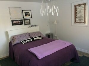 Furnished/ unfurnished 2 BDRM apt. Quispamsis (short/long term)