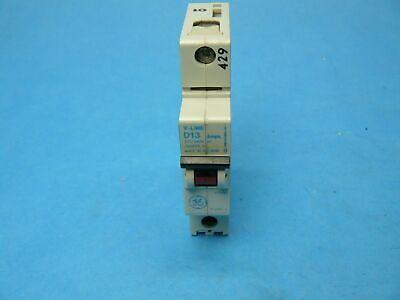 GE TEF 134030 TEF134030 Circuit Breaker 30 Amp 3 Pole 480 VAC Black