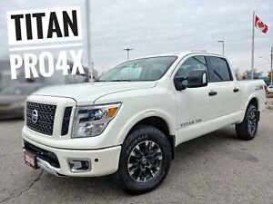 2018 Nissan Titan PRO-4X Navi Htd Seats Tow Pkg  FREE Delivery