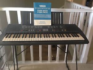 Yamaha Keyboard PSR200 Green Valley Liverpool Area Preview