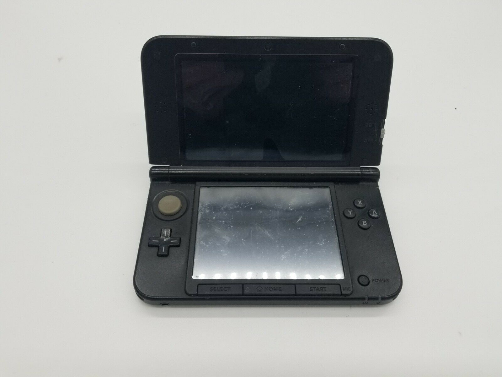 Nintendo 3DS XL Black Handheld Console SPR-001 USA For Parts Or Repair  - $49.95