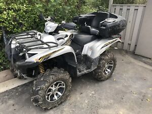 Loaded 2017 Yamaha grizzly 700
