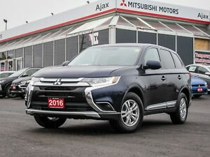 2016 Mitsubishi Outlander ES AWC Bluetooth / Heated Seats