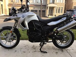 2011 BMW F650GS + Optional Vario Panniers