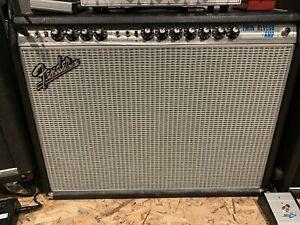 68 Reissue Fender Twin Reverb