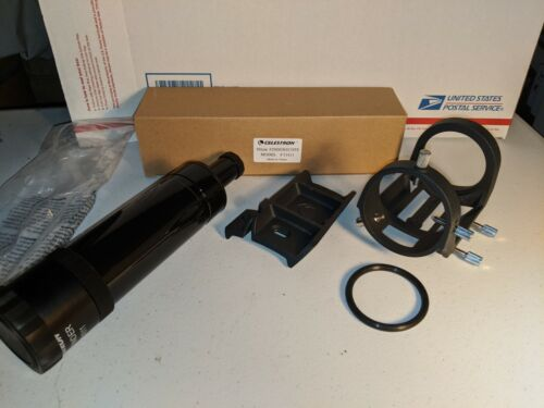 CELESTRON 9x50 Finder Scope  #51611 with Large Base and Mount (NEW)