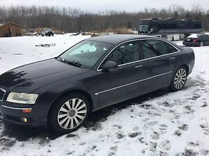 2005 audi A8L certified and e tested low kms