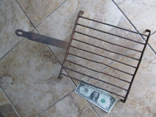 Nice Antique Hand Made Fireplace Cooking Grate, Americana, Kitchen, Trivet c1820