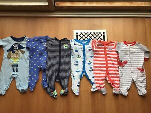 3 months sleepers lot