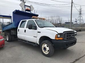 2001 FORD F450 DOMPEUR