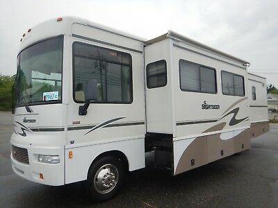 Winnebago Sightseer 34Ft Class A Motorhome 3 Slides Low Miles Ford V10 2006