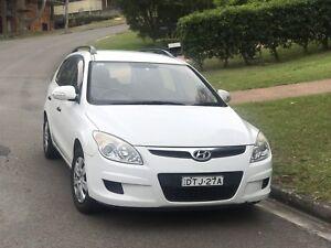 Hyundai i30 White Wagon 2009 Auto