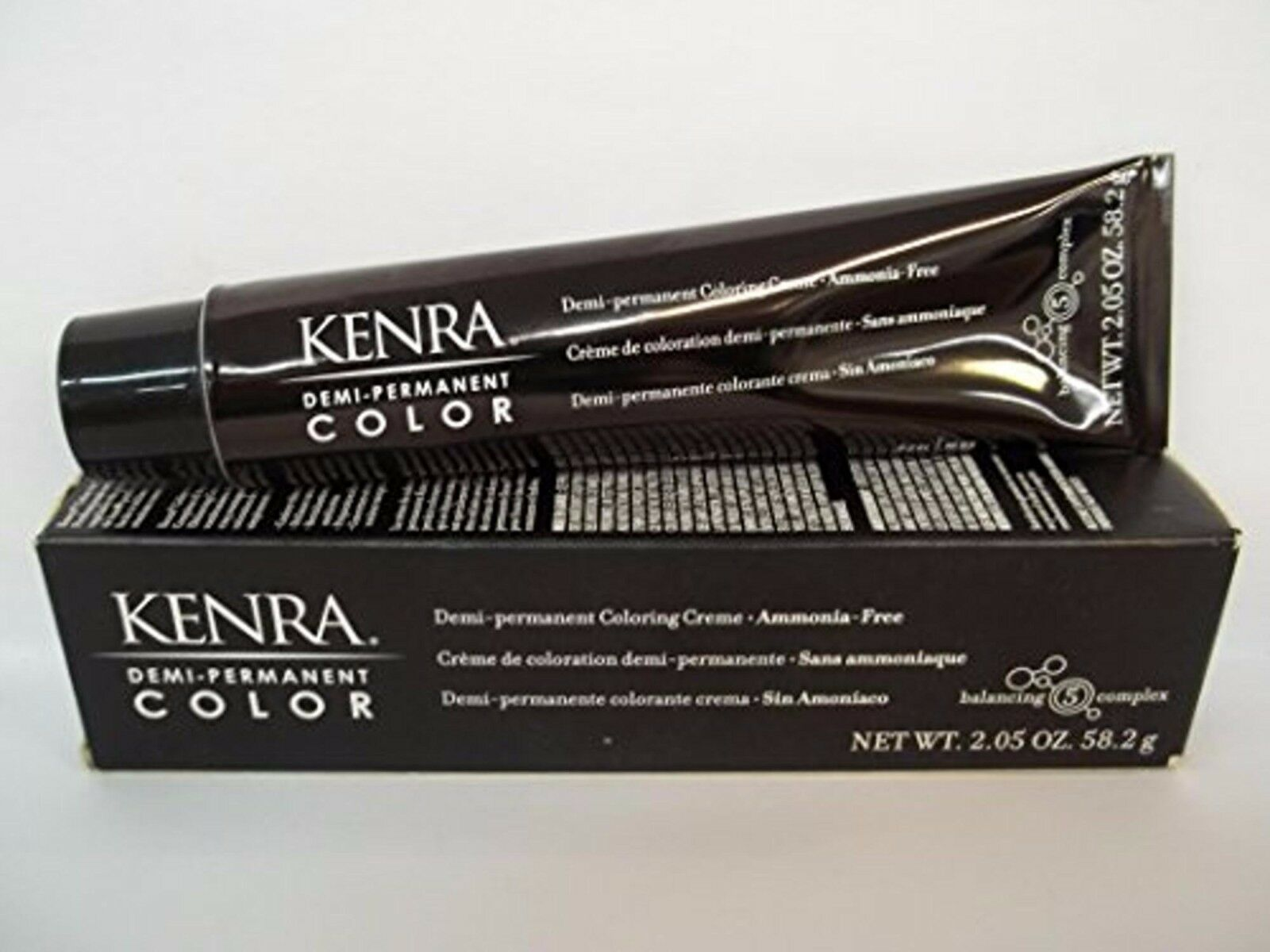 Kenra Demi-Perm Coloring Cream 3 VR Dark Brown Violet Red