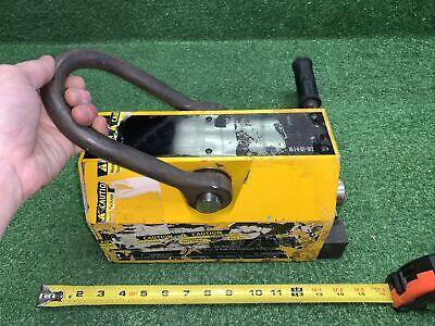 Possible- Eriez Lifting Magnet 2500 Lb Cap 2 Read Desc