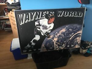 Wayne Gretzky LA Kings Hockey poster