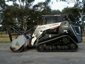 2014 Terex PT100 G Forestry Skid Steer Loader Forestry Mulcher Austral Liverpool Area Preview