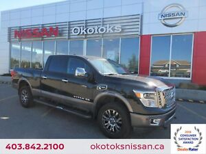 2016 Nissan Titan XD Platinum Reserve Diesel HEATED & COOLED...