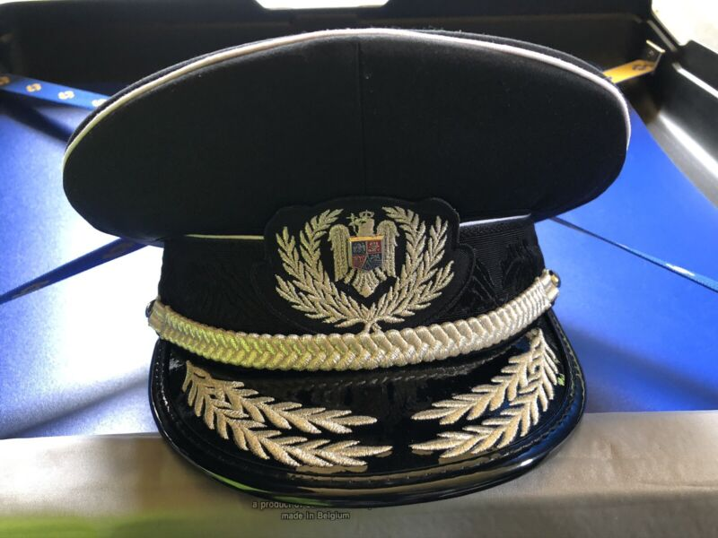 Romanian Police Ceremony General's Hat