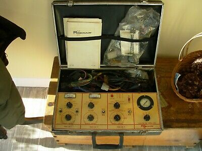 Vintage Auto Ac Test And Diagnosic Equipment By Robinair
