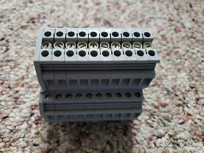 20 piece bundle DIN Rail Screw Terminal Block 95 mm DK95 Dinkle 3P DinRail