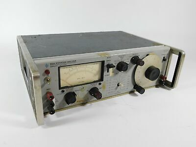 Hp 333a Distortion Analyzer Vintage Test Equipment Unmodified Untested