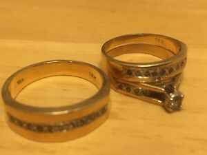 Set of matching Wedding/ Engagement rings