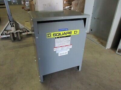 Square D 15 Kva 3 Phase General Purpose Transformer H.v. 208 L.v. 208y120
