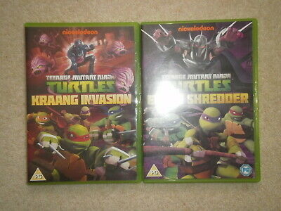 2 x Teenage Mutant Ninja Turtles DVDs - Enter Shredder and Kraang Invasion (Teenage Mutant Ninja Turtles 2 Shredder)