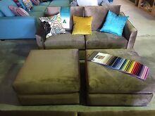 Sofas with ottomans Bibra Lake Cockburn Area Preview