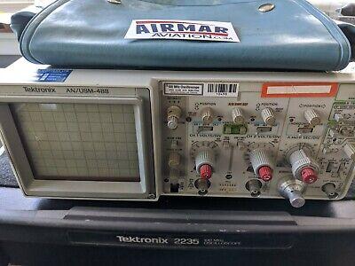 Tektronix 2235 100mhz Analogdigital Oscilloscope