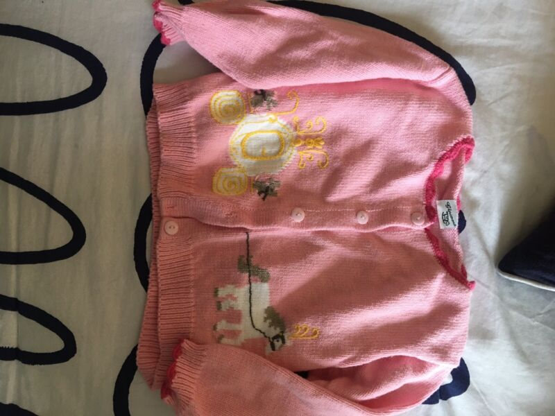 Glorimont Girls Sweater Cinderella Size 4 Euc Worn Once