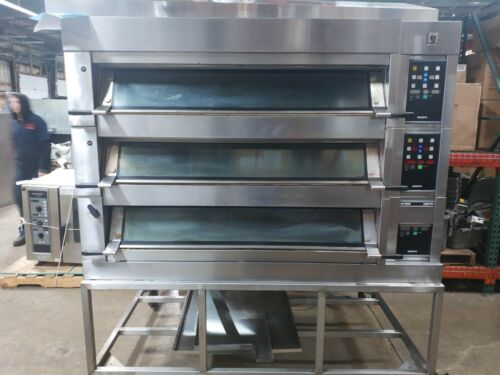 Mono FG247-G28S01 Electric Deck Oven Three Section