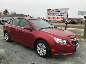 2012 Chevrolet Cruze LT Turbo! CERTIFIED! NEW TIRES!