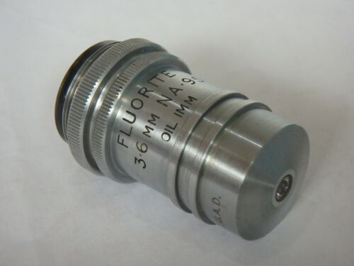 Watosn Microscope objective Fluorite 3.6mm(x50) NA 0.95 OIL IMM - RARE