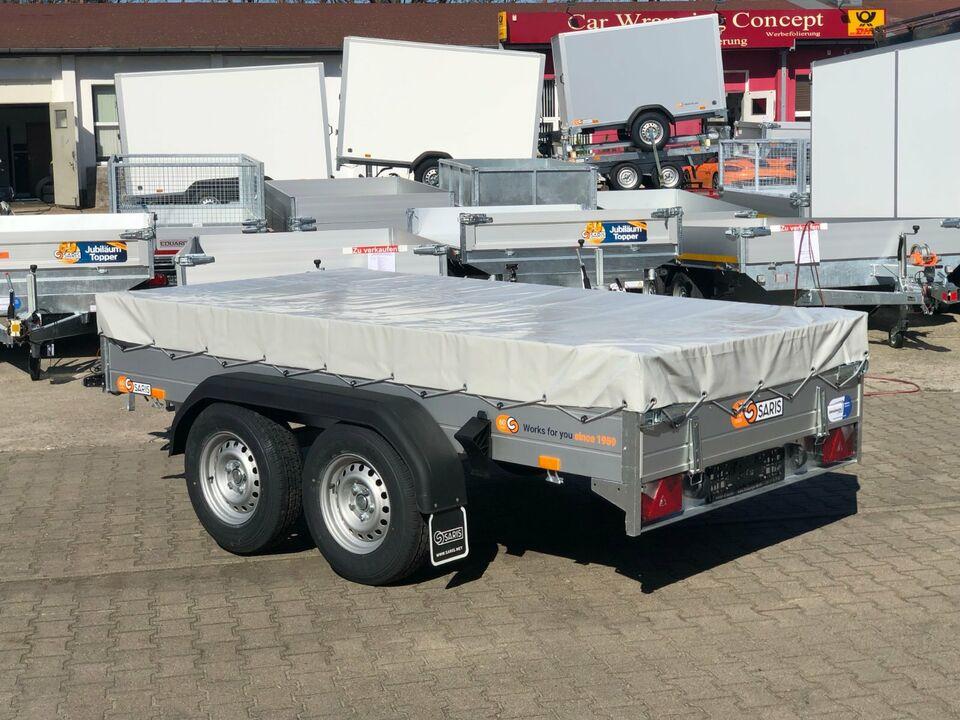⭐Anhänger Saris McAlu Pro FW2000 2000 kg 305x153x43 cm Plane NEU in Schöneiche bei Berlin